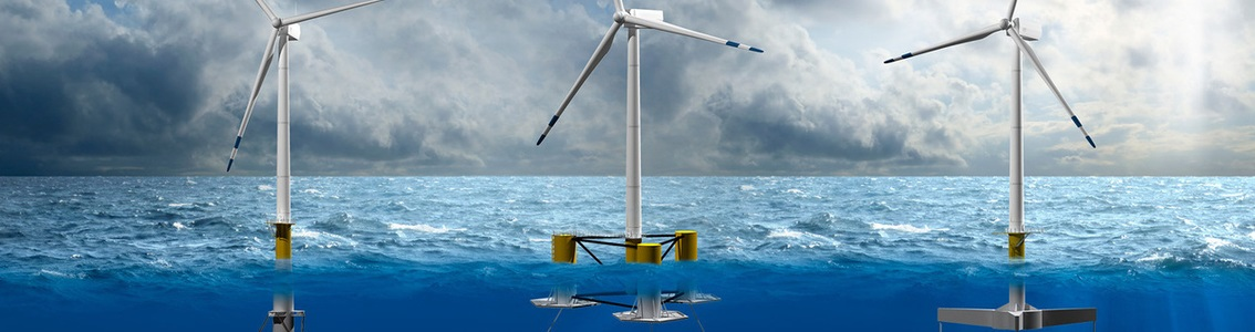 Coupled analysis of floating wind turbines