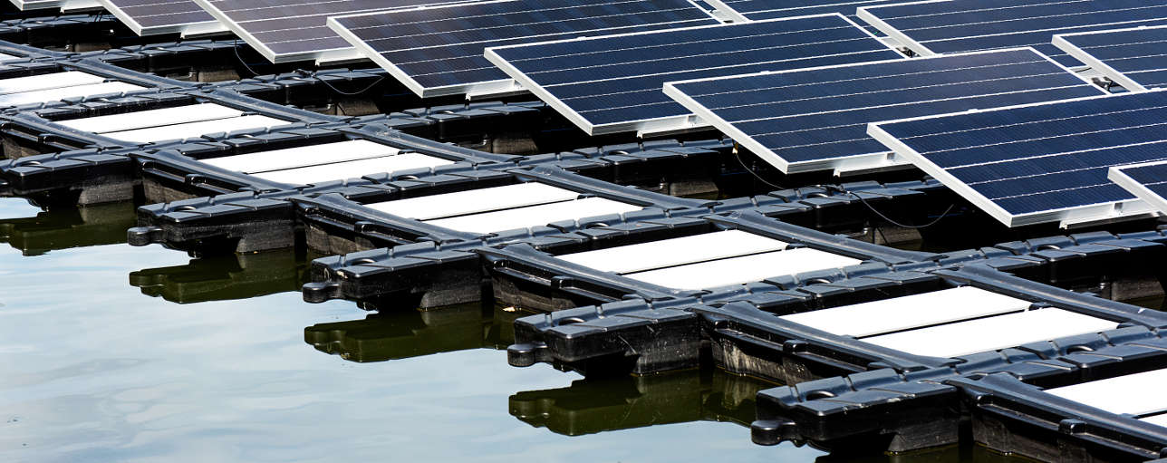 Floating solar project for Singapore